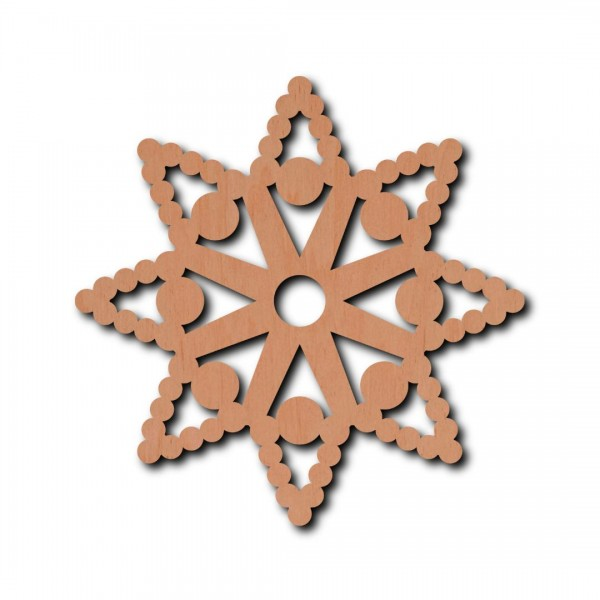 Holzstern - Mia Ø 6 cm