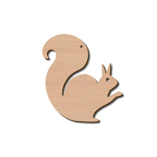 Holztier Eichhörnchen