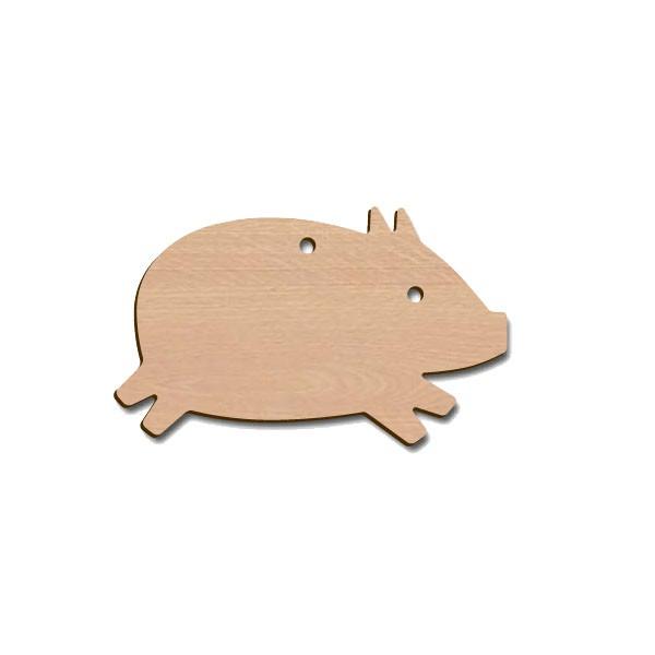 Holztier - Schwein