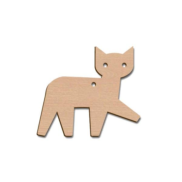 Holztier - Katze
