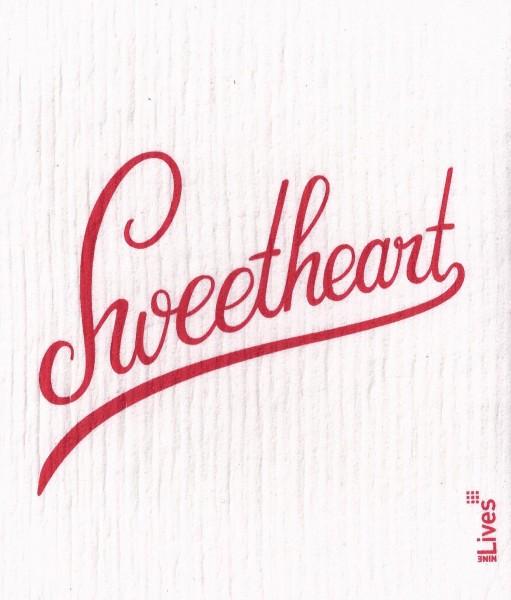 Schwammtuch Sweetheart