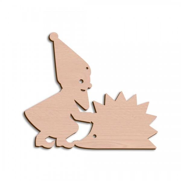 Holzwichtel + Igel