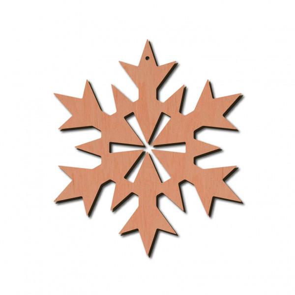 Holzstern - Lux Ø 8 cm