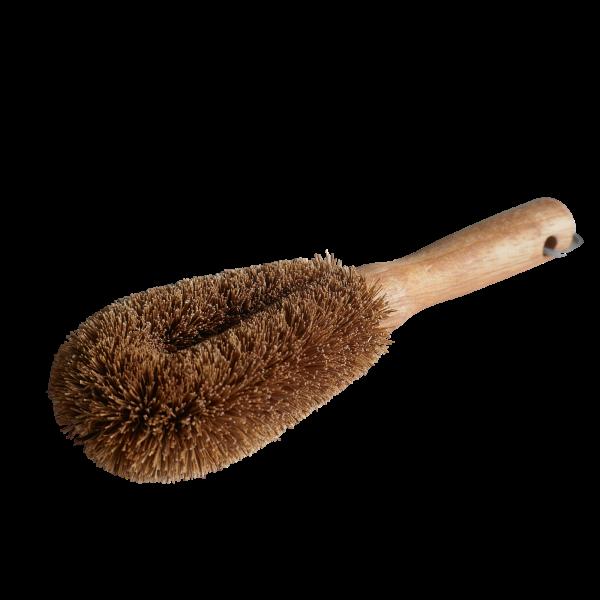 Gemüsebürste aus Kokosfaser