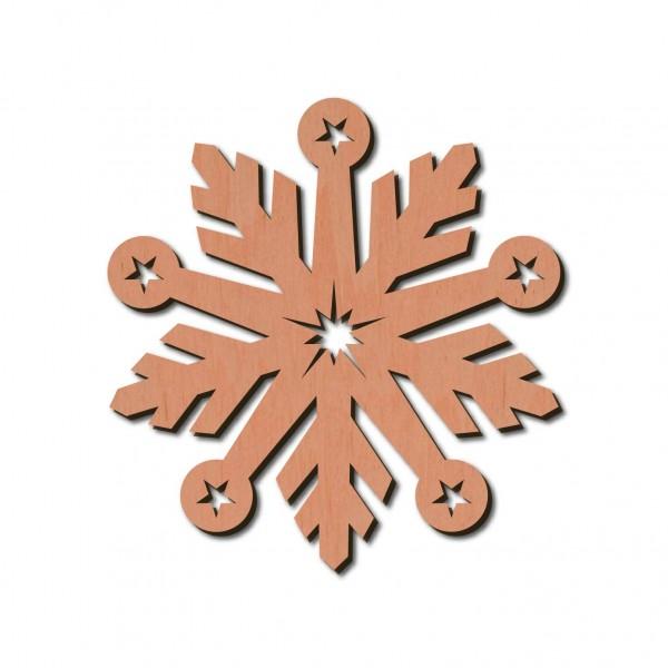 Holzstern -Bianca Ø 8 cm