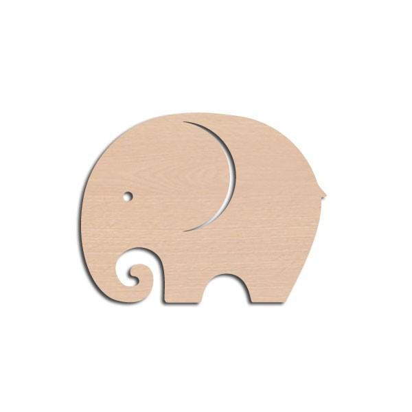Holztier Elefant