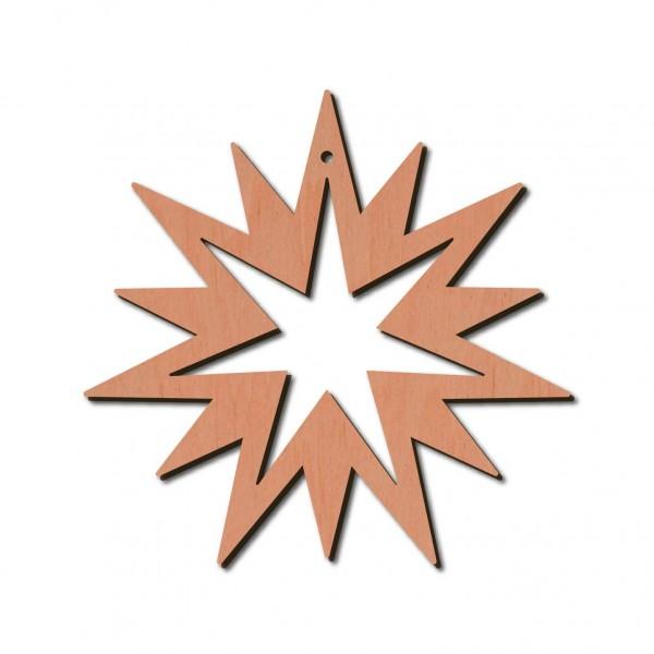 Holzstern - Pictor Ø 8 cm