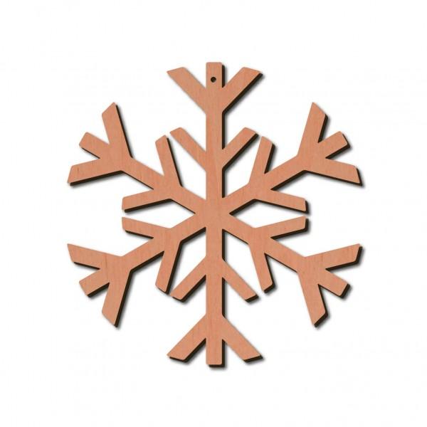 Holzstern - Frost Ø 8 cm