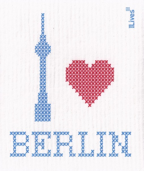 Schwammtuch love Berlin