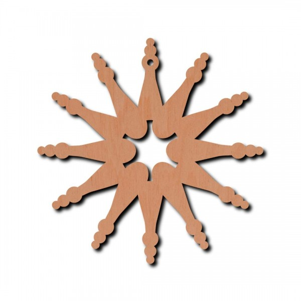 Holzstern Carin 6 cm