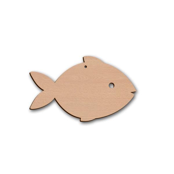 Holztier Fisch