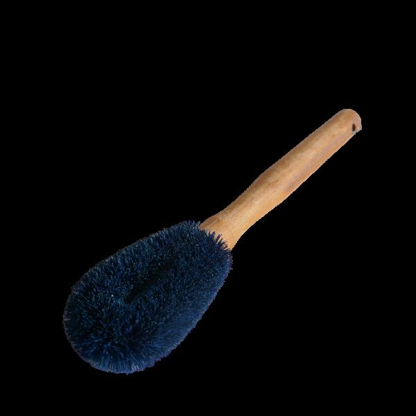 Spülbürste aus blauer Kokosfaser